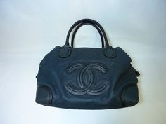Authentic Vintage Boston Chanel Handbag by VintageMonteCarlo64, $2295.00