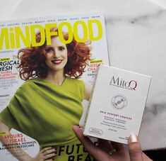 'Next Gen' supplements - MitoQ as seen in Mindfood March 2018