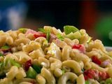 Old-Fashioned Macaroni Salad from The Neely's on Food Network. I am not sure how I feel about the boiled eggs, but it looks delicious!