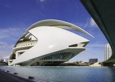 "Calatrava's City of Arts and Sciences is ""insane"" and ""amazing"" says George Clooney."