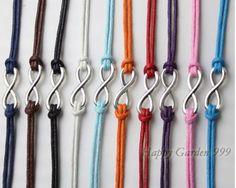 Silver Infinity Wish Bracelet Karma Bracelet Women Bracelet Men Bracelet Jewelry Bangle Bracelet The best gift Couple Bracelets, Wish Bracelets, Cord Bracelets, Bracelets For Men, Infinity Bracelets, Heart Jewelry, Cute Jewelry, Jewelry Ideas, Jewelry Box