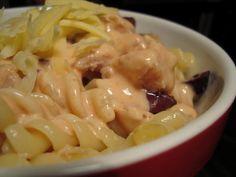 Μακαρονοσαλάτα με Τόνο | cookcool Cookbook Recipes, Cooking Recipes, Macaroni And Cheese, Pasta, Ethnic Recipes, Food, Mac And Cheese, Chef Recipes, Essen