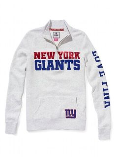 New York Giants Half-Zip Pullover - Victoria s Secret PINK® - Victoria s  Secret Ny 22bef54d4