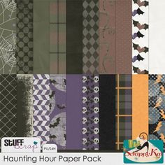 October BAK: Haunting Hour Paper Pack - The Scrappy Kat