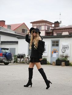 Get this look: http://lb.nu/look/6849164  More looks by Anna Wiklund: http://lb.nu/annawii  Items in this look:  Sarenza.Se Over The Knee Boots   #bohemian #retro #vintage