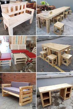 We have brought some chic suggestions, perfectly fitted to make your living, din… - Herzlich willkommen Pallet Couch, Pallet Furniture, Pallet Tables, Pallet Benches, Wooden Dog House, Build A Dog House, Recycled Pallets, Wooden Pallets, Diy Pallet Projects