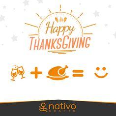 Happy Thanksgiving! May today be a day filled with all the things you are thankful for | ¡Feliz Día de Acción de Gracias! Que hoy sea un día lleno de todas esas cosas por las que estás agradecido