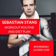 Sebastian Stan Workout and Diet Plan : Train like Winter Soldier Gonna Make You Sweat, Going To The Gym, Muscle Fitness, Fitness Tips, Captain America Workout, Funny Interview, Wallpaper Aesthetic, Lower Stomach, Muscle Fatigue