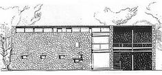 House at Mathes - Le Corbusier