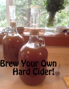 You've brewed up a batch of tasty hard cider, now it's time to bottle it. Here are instructions for how to bottle hard cider. Brewing Recipes, Beer Recipes, Alcohol Recipes, Canning Recipes, Homemade Wine Recipes, Whiskey Recipes, Xmas Recipes, Coffee Recipes, Make Your Own Wine