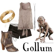 Really Pretty, even though Gollum is creepy beyond belief!