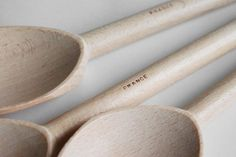 Paint Dipped Mixing Spoon Set (Sea)