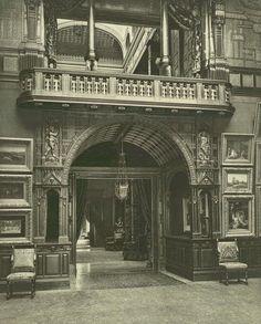 640 Fifth Ave, William H. Vanderbilt residence c. 1882. Art Gallery.