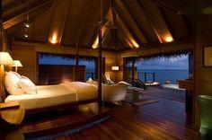 Conrad Maldives Rangali Island <3 - just click on the image for more gorgeous pics