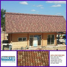 Tegola Master Coppo with double layer bituminous shingle. 100% from Italy.  Whatever design, tegola roof enhance your property value with cooling inside, anti theft and warranty zero leaking. Whether there are other roof who can ? Tegola dare to challenge.  Tegola the only fashionable roof for life.  www.1atap.com.my/tegola