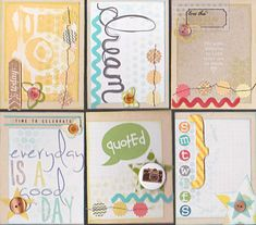 Aichaku Creates: Digital Journal Cards for Paper Pocket Pages