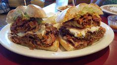 #manikinhead #food La Torta Del Rey (King's Sanswich) - From Los Reyes de La Torta. Phoenix AZ