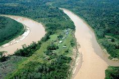 Povoado de Boca do Tejo, em Marechal Thaumaturgo, estado do Acre, Brasil.