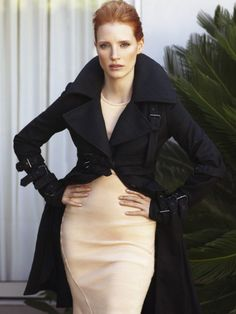 jessica chastain: high collar, hair up Most Beautiful Women, Beautiful People, Love Fashion, High Fashion, Lawyer Fashion, Celebs, Celebrities, Beautiful Actresses, Autumn Winter Fashion