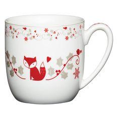 Kitchencraft Porcelain Mug, White | Leekes