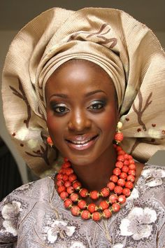 African Bride.