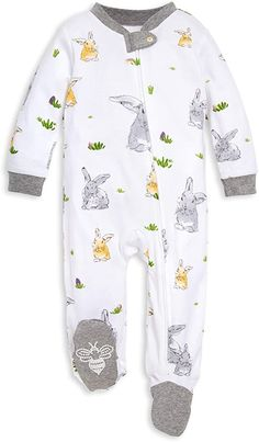 Fear No Fish Baby Girls Long Sleeves Triangle Jumpsuit for 6-24m Baby