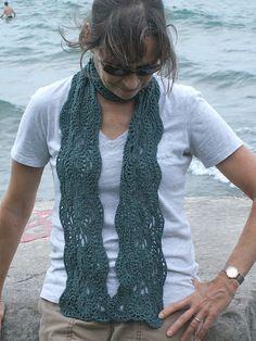 Ravelry: Skokie Scarf pattern by Wendy Easton