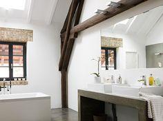 Vierkanthof mit luftigem Atrium - Altbau - [SCHÖNER WOHNEN] - Bad