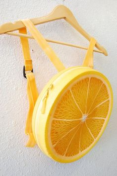 Kawaii Plastic Fruit Yellow Lemon by AfterDarkVintage Cool Outfits, Fashion Outfits, Things To Buy, Stuff To Buy, Cute Backpacks, Kawaii Clothes, Cute Bags, Character Outfits, Mini Backpack