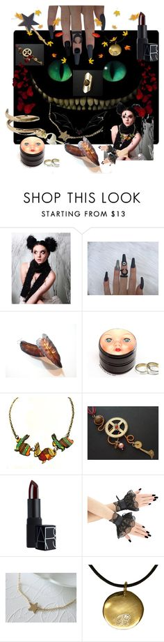 """""""Fall Party"""" by anna-recycle ❤ liked on Polyvore featuring NARS Cosmetics"""