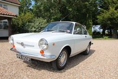 Fiat - 850 Coupe Series 1 For Sale at MIDDLE BARTON GARAGE - Fiat and Abarth Specialists Fiat 850, Road Runner, Plymouth, Motor Car, Cars For Sale, Race Cars, Sport, Classic Cars, Racing