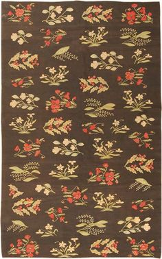 View this beautiful Bessarabian Rug 40456 from Nazmiyal's fine antique rugs and decorative carpet collection. Cool Patterns, Textile Patterns, Textiles, Rug Making, Oriental Rug, Kilim Rugs, Carpet, Antiques, Floral