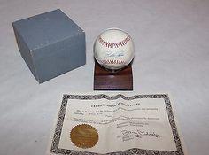 Pete Rose Autograph Baseball With COA #3892