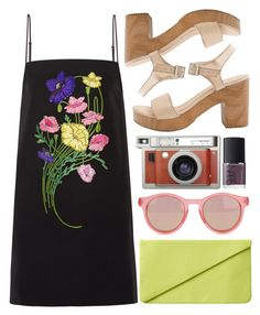 """""""feel the light"""" by rosiee22 ❤ liked on Polyvore featuring Christopher Kane, Lomography, Le Specs, NARS Cosmetics, Monki and American Apparel"""