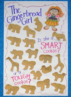The Gingerbread Girl Goes Animal Crackers idioms and opinions chart