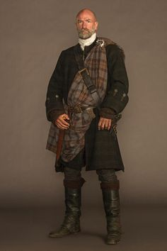 "'Outlander' Season 1: Dougal MacKenzie (Graham McTavish)--I've always liked Graham, and I'm glad to see him in this role--he could give Sam serious competition in the ""melting panties"" race!"