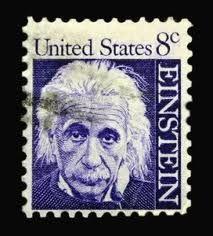 Einstein / USA postage stamp