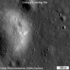 Chang'e 3: Chinese rover seen on Moon by LRO.