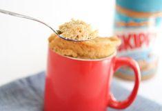 Healthier PB Mug Cake   Kirbie's Cravings   A San Diego food blog