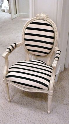 striped-dining-chair