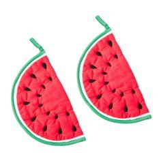 """Fruchtiges Küchenaccessoire: Rice Topflappen """"Wassermelone"""""""