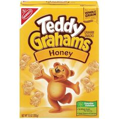 Teddy Grahams - IMPORTANT: Please read ingredient labels. Manufacturers continually change packaging and processing.