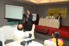 Mr. Hasan Sabuwala , VP Treasury Kotak Mahindra delivering presentation