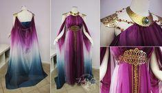 Original Princess Zelda Gown by Lillyxandra.deviantart.com on @deviantART