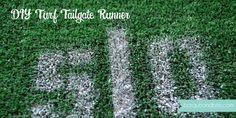 DIY Turf Tailgate Runner