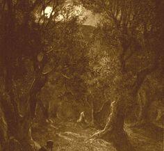 Jesus praying in the garden of Getsemane by William Brassey Hole