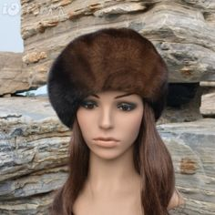 Awesome Mink Beret. Genuine Mink Beret, medium size. It is really gorgeous just doesn't look good with my face shape.., retails between 300.00 and 400.00. Accessories Hats