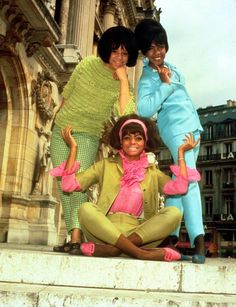 The Supremes in Paris.