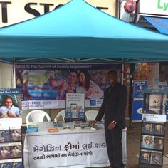 Gujarati public witnessing table on Ealing Road in Wembley, London. Photo shared by @philip_oppon Thank you. Submit