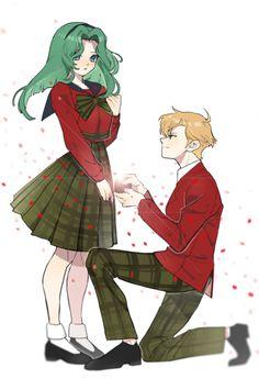 #MichiruKaio & #HarukaTeno